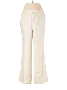 Lauren by Ralph Lauren Linen Pants Size 2 (Petite)