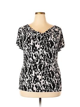 Grace Elements Short Sleeve Blouse Size XL