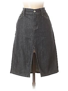 7 For All Mankind Denim Skirt 30 Waist