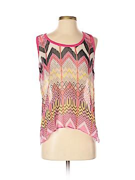 Carven Sleeveless Silk Top Size M