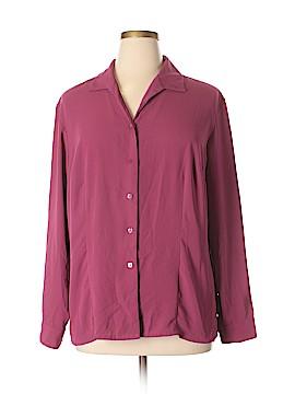 Covington Outlet Long Sleeve Blouse Size 22 (Plus)