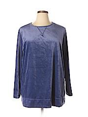 Woman Within Women Sweatshirt Size 22 (1X) (Plus)