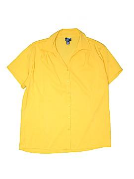 UNITI Short Sleeve Button-Down Shirt Size 2X (Plus)