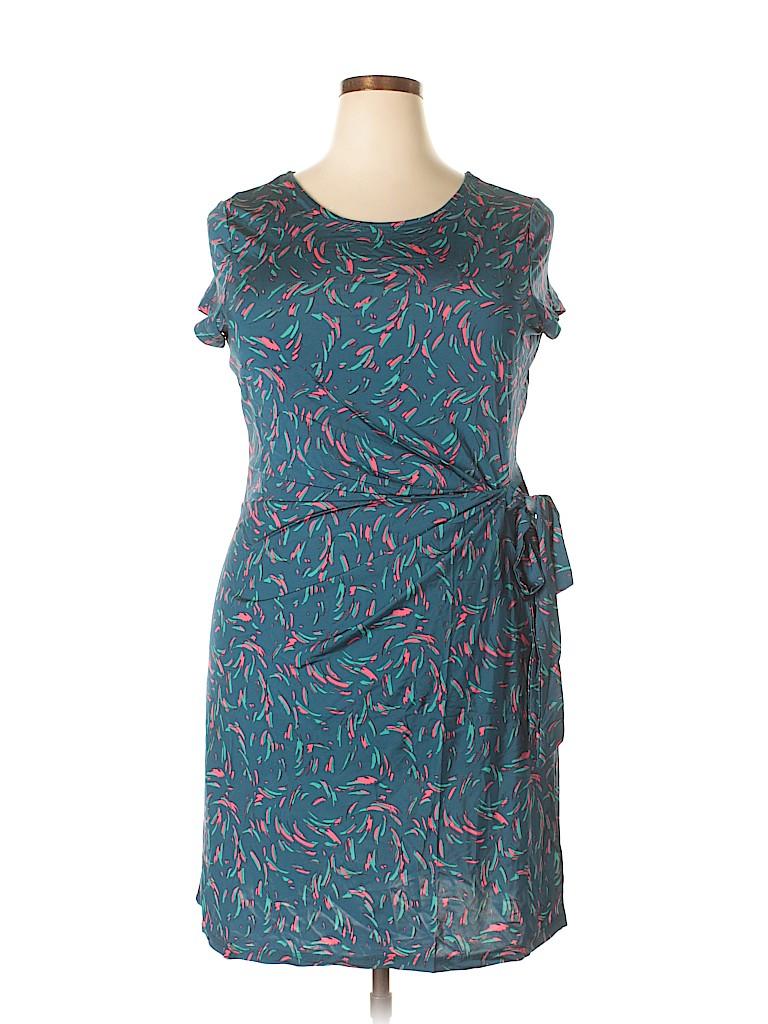Leota Women Casual Dress Size 24 (3) (Plus)