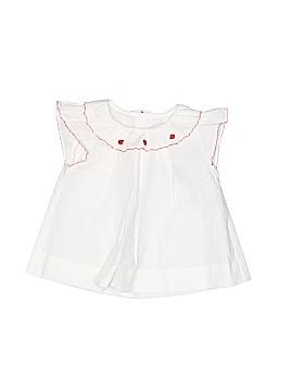 Jacadi Short Sleeve Blouse Size 3 mo