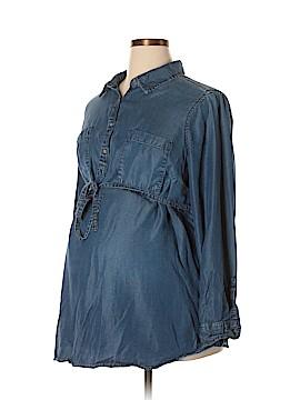 Liz Lange Maternity for Target Long Sleeve Blouse Size XXL (Maternity)