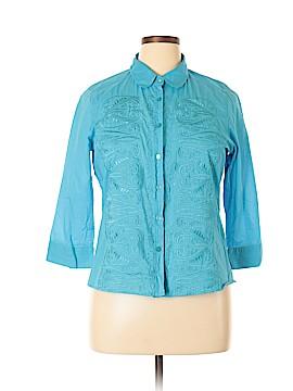 Ravel Long Sleeve Button-Down Shirt Size XL