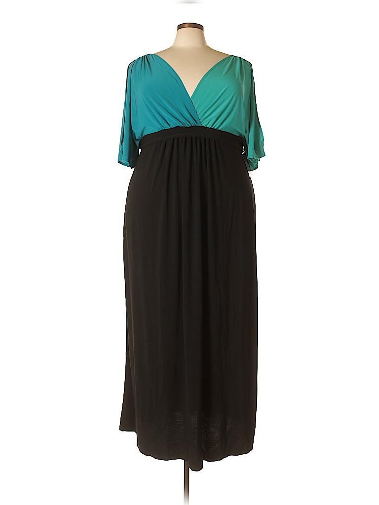 Kiyonna Women Casual Dress Size 1 (Plus)