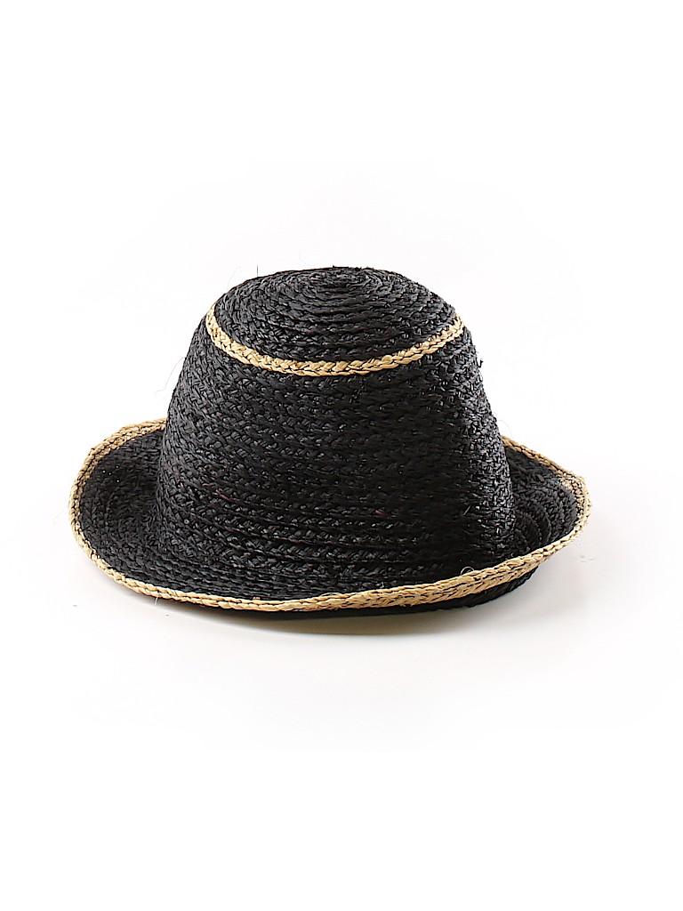 Zara Solid Black Sun Hat One Size - 47% off  76c0ed9f9a0