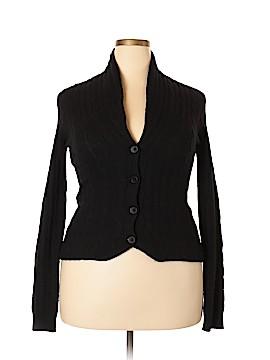 Aqua Cashmere Cardigan Size L