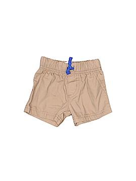 Child of Mine by Carter's Khaki Shorts Size 0-3 mo