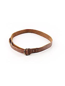 Tarnish Leather Belt Size L