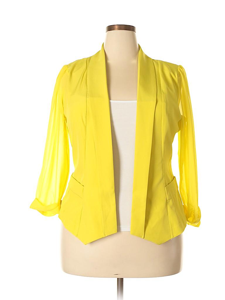City Chic Women Blazer Size 16