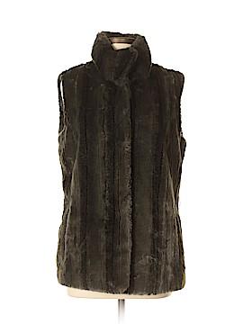 Kristen Blake Faux Fur Vest Size M