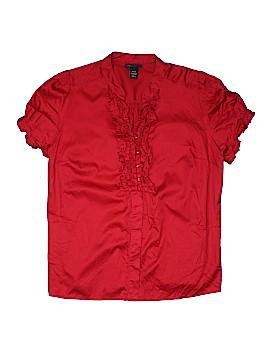 Lane Bryant Outlet Short Sleeve Blouse Size 18 - 20 Plus (Plus)