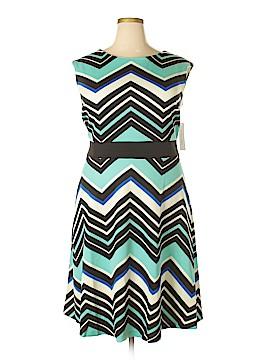 Sandra Darren Casual Dress Size 18 (Plus)