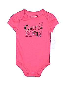 Calvin Klein Short Sleeve Onesie Size 18 mo