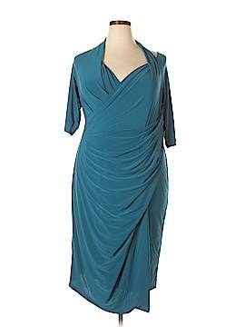 Kiyonna Casual Dress Size 3X (Plus)