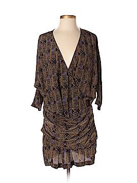 Thakoon 3/4 Sleeve Silk Top Size 2