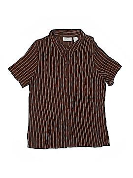 Villager Sport by Liz Claiborne Short Sleeve Blouse Size 16