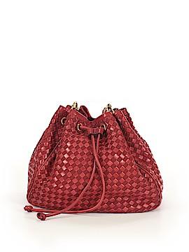 Antonio Melani Leather Bucket Bag One Size