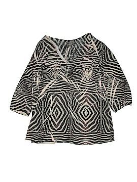 Jane Ashley 3/4 Sleeve Blouse Size XL
