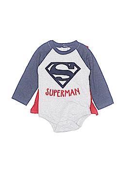 Superman Long Sleeve Onesie Size 6-9 mo