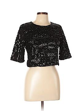 Lucy Paris Short Sleeve Blouse Size L