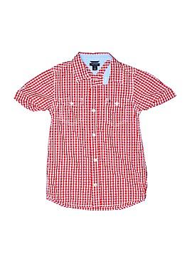 Tommy Hilfiger Short Sleeve Button-Down Shirt Size 7