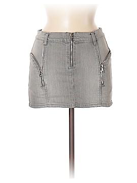McQ Alexander McQueen Denim Skirt Size 40 (EU)