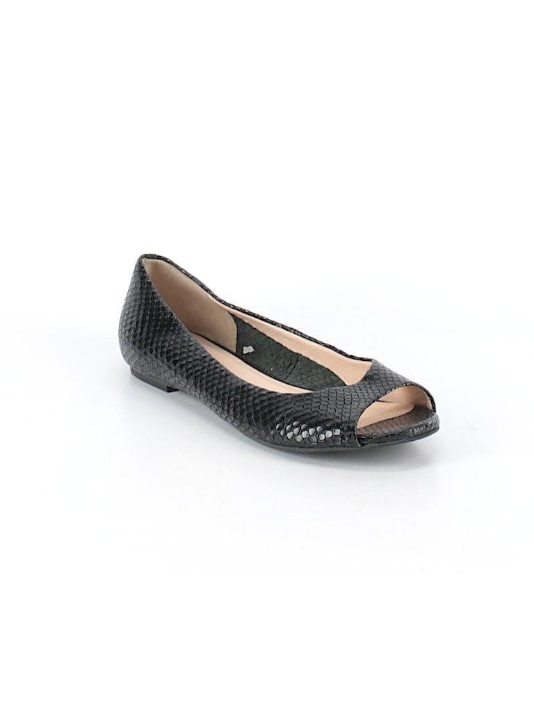 368231c4d15bc Cole Haan Animal Print Black Flats Size 6 - 76% off