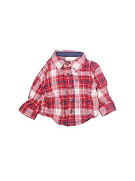 Cat & Jack Long Sleeve Button-Down Shirt Newborn