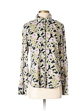 Cino Long Sleeve Button-Down Shirt Size M