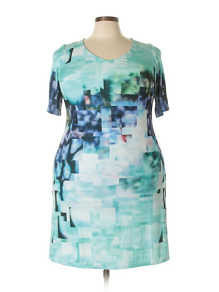 Julia Jordan Women Casual Dress Size 14 (Plus)