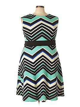 Sandra Darren Casual Dress Size 16 (Plus)