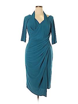 Kiyonna Casual Dress Size 1X (Plus)
