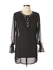 Venezia Women Long Sleeve Blouse Size L (Plus)