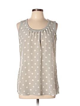 Akris Punto for Bergdorf Goodman Sleeveless Silk Top Size 8