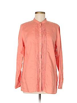 L.L.Bean Factory Store Long Sleeve Button-Down Shirt Size M