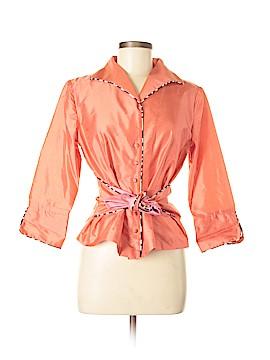 Marisa Baratelli Silk Blazer Size 8