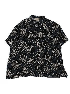 Moe Short Sleeve Button-Down Shirt Size XL