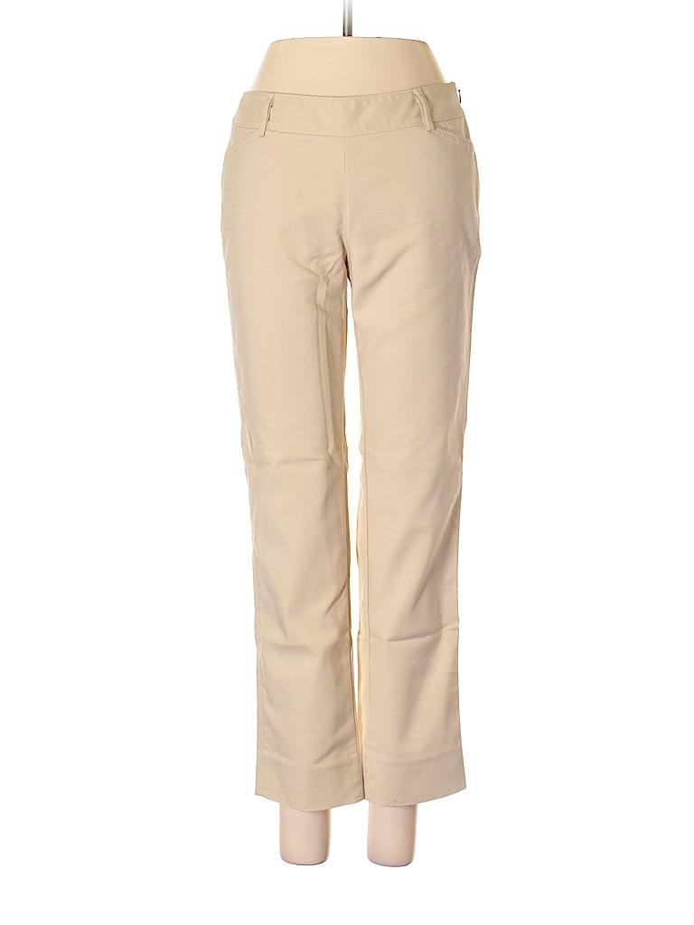 3bfbcbc501 White House Black Market Solid Beige Dress Pants Size 2 - 90% off ...