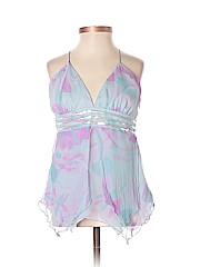 Alice & Trixie Women Sleeveless Silk Top Size XS