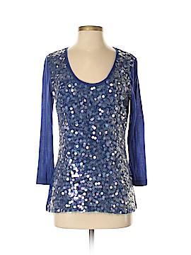 Hilton Hollis Long Sleeve Silk Top Size M