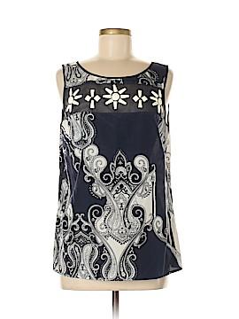 Hilton Hollis Sleeveless Silk Top Size 8