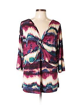 Carole Little 3/4 Sleeve Blouse Size 2X (Plus)