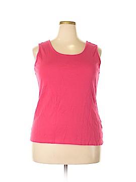 Lands' End Sleeveless T-Shirt Size XL
