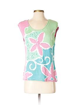 Sigrid Olsen Sport Short Sleeve Top Size M