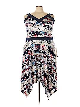 Avenue Casual Dress Size 8 (Plus)