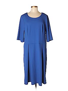 Mikarose Casual Dress Size 2X (Plus)